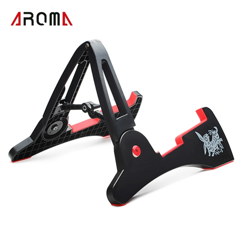 Aroma AGS-03 Compact Rabbit Shape Guitar Stand A-frame Holder Bracket For All Sizes Guitar Bass Stringed Instrument Accessories aroma ags 03 compact rabbit shape guitar stand a frame holder bracket for all sizes guitar bass stringed instrument accessories