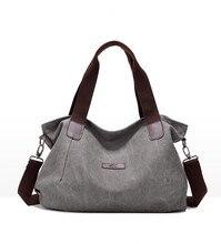 2017 Fashion canvas shoulder bag women messenger bags Women's handbags  088