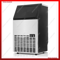 HZB80 Electric Automatic Cube ice maker Commercial or Home use ice making machine 220V 110V 80KG/24H Ice Maker