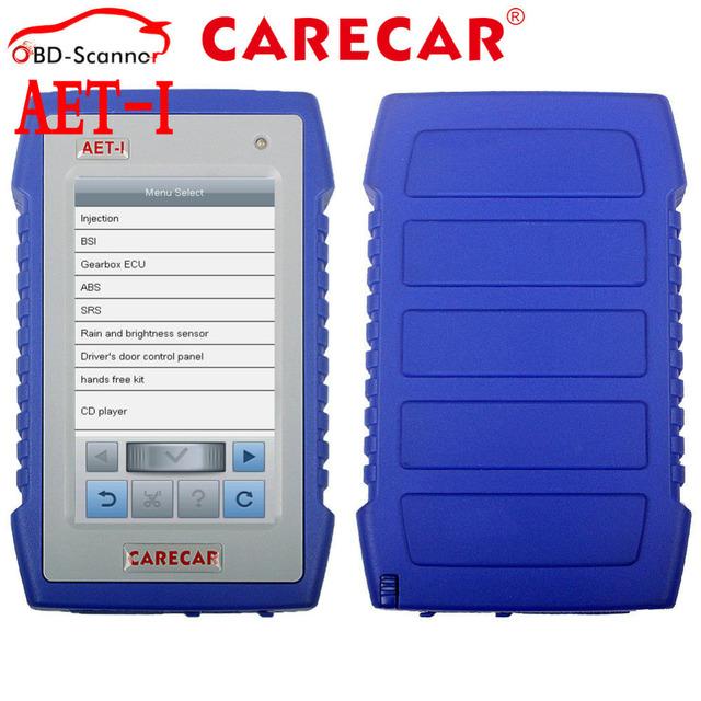AET-I Carecar Ferramenta de Diagnóstico com Motor ABS Airbag Auto Função BCM Scanner Fit para Toyota Ford C itroen VW Honda Fiat Opel