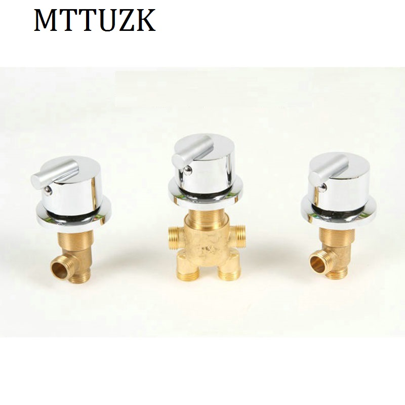 MTTUZK hot and cold water Brass switch valve for Bathtub faucet shower mixer, bathtub set faucet ,Bath faucet control valve car auto light sensor automatic headlight sensor control for new ford focus 2012 kuga 2013 automatic turn on light