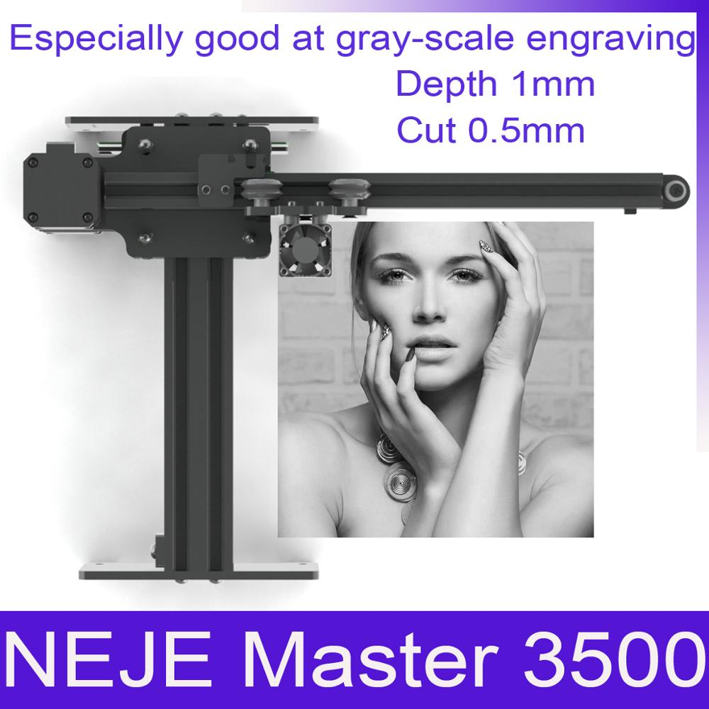 NEJE Master 3500mw High Speed Mini CNC Laser Engravr Engraving Machine For Metal /Wood Router/Paper Cutter/Desktop Cutter(China)
