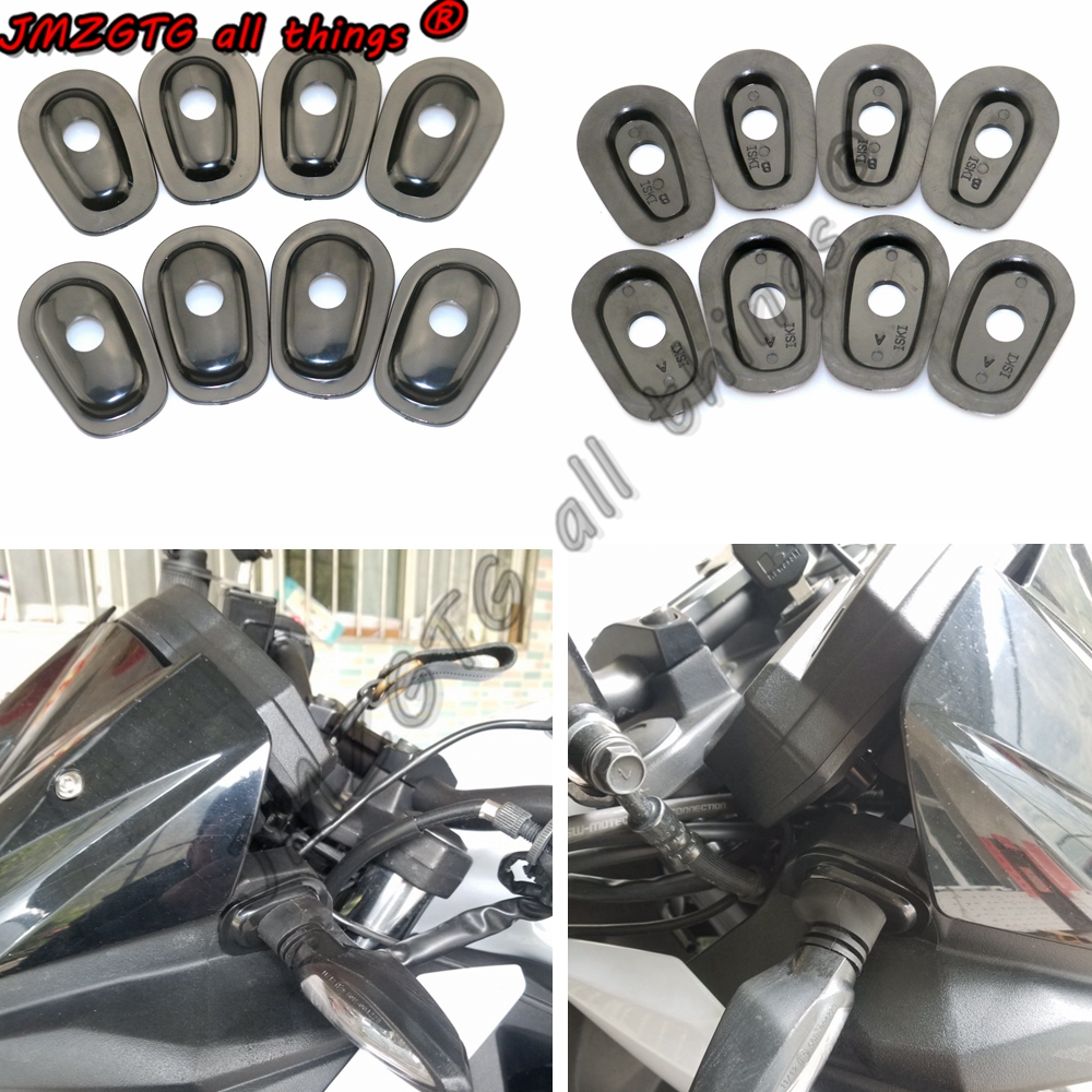 Motorcycle Refit Turn Signals Indicator Adapter Spacers For KAWASAKI Z250 Z300 Z650 Z750 Z800 Z1000 Z1000SX Z750S Z250SL