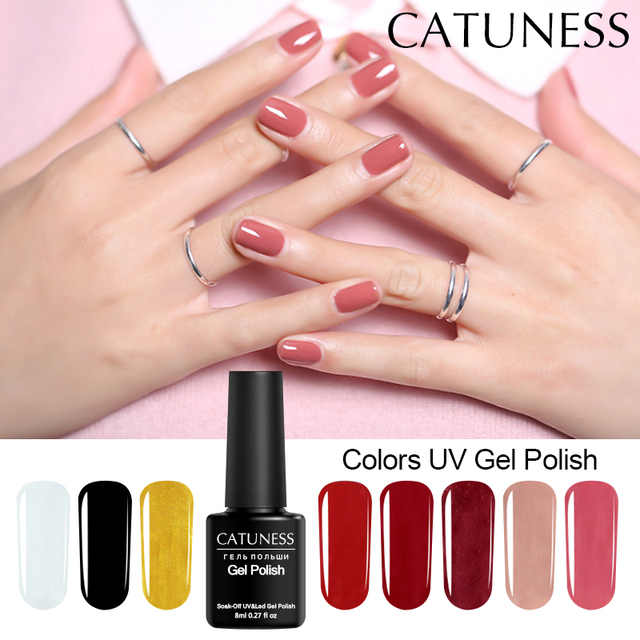 US $0.61 46% OFF CATUNESS Soak Off Poly Gel 8ml 29 Colors 2019 High Quality  Long Lasting Gel Nail Polish Colorful Acrylic Nail uv varnish gel-in Nail  ...