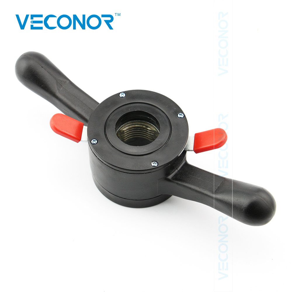 VECONOR Fast Locking Nut Quick Nut Wing Nut For Car Wheel Balancer Shaft Size 36mm Thread Pitch 3mm
