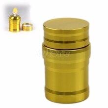 Винтажная лампа горелки для спирта Алюминиевый Чехол лабораторное оборудование отопление 10 мл мини