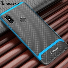 IPAKY 360 shockproof Cases For Xiaomi Redmi note 5 / Note 5 Pro Case Silicone TPU Soft Back Cover Case With PC Frame все цены