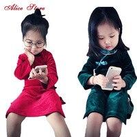 Mint Pink White Baby Girls Three Flowers Lace Shoulder Dress Kids Pretty Summer Dress LHQ01