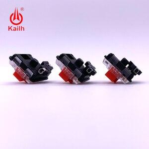 Image 3 - Kailh tomada de troca quente para baixo perfil 1350 interruptores de chocolate no teclado mecânico pcb tomada diy modificação base