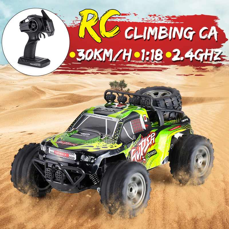 MGRC Mini RC Car 1/18 2.4G 4CH 2WD High Speed 15KM/h Brush Crawler Remote Controller Car Children's Toys Multiple Colour