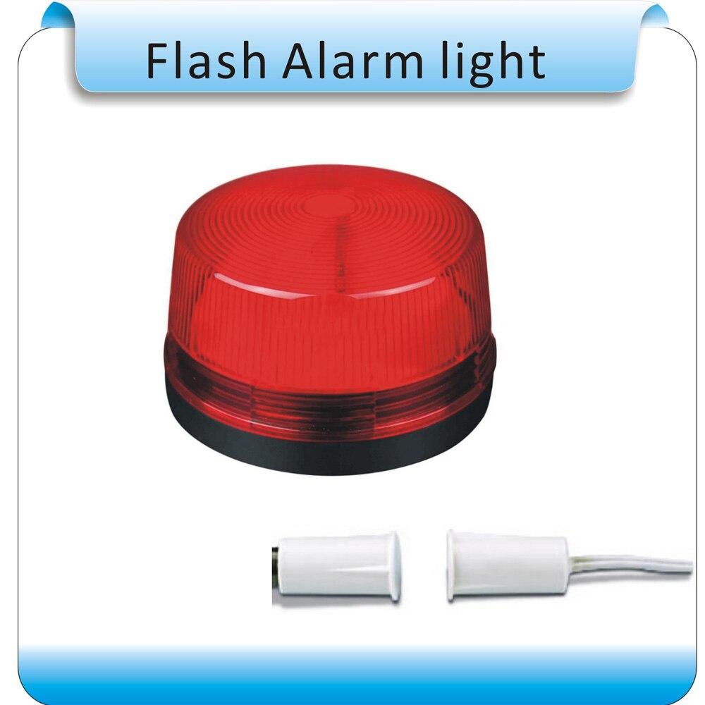 Free shipping 10pcs&10pcs switch SL-79 DC12V Led Warning Light Traffic Signal Strobe Warning lights Flash Alarm Police Light