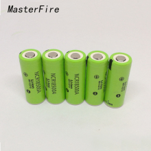5pcs/lot New Original 3.6V NCR18500A 2000mah Li-Ion Rechargeable Battery Batteries For Panasonic Free Shipping