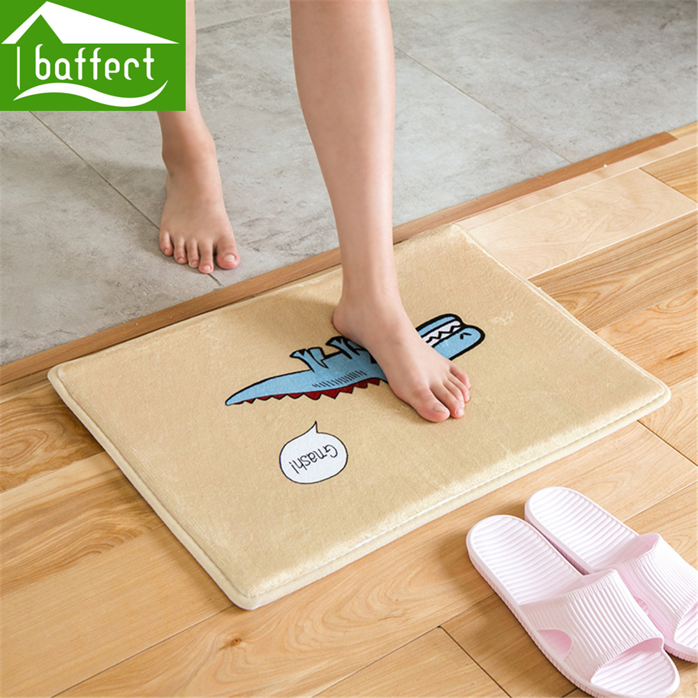 aliexpress : buy 2017 anti slip doormat mat flannel cute multi