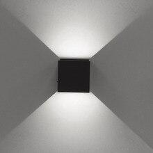цена Jiawen 5W LED Wall Lights Aluminum Up and Down Sconce Lighting LED Cube Lamp for Bathroom Vanity Lighting онлайн в 2017 году