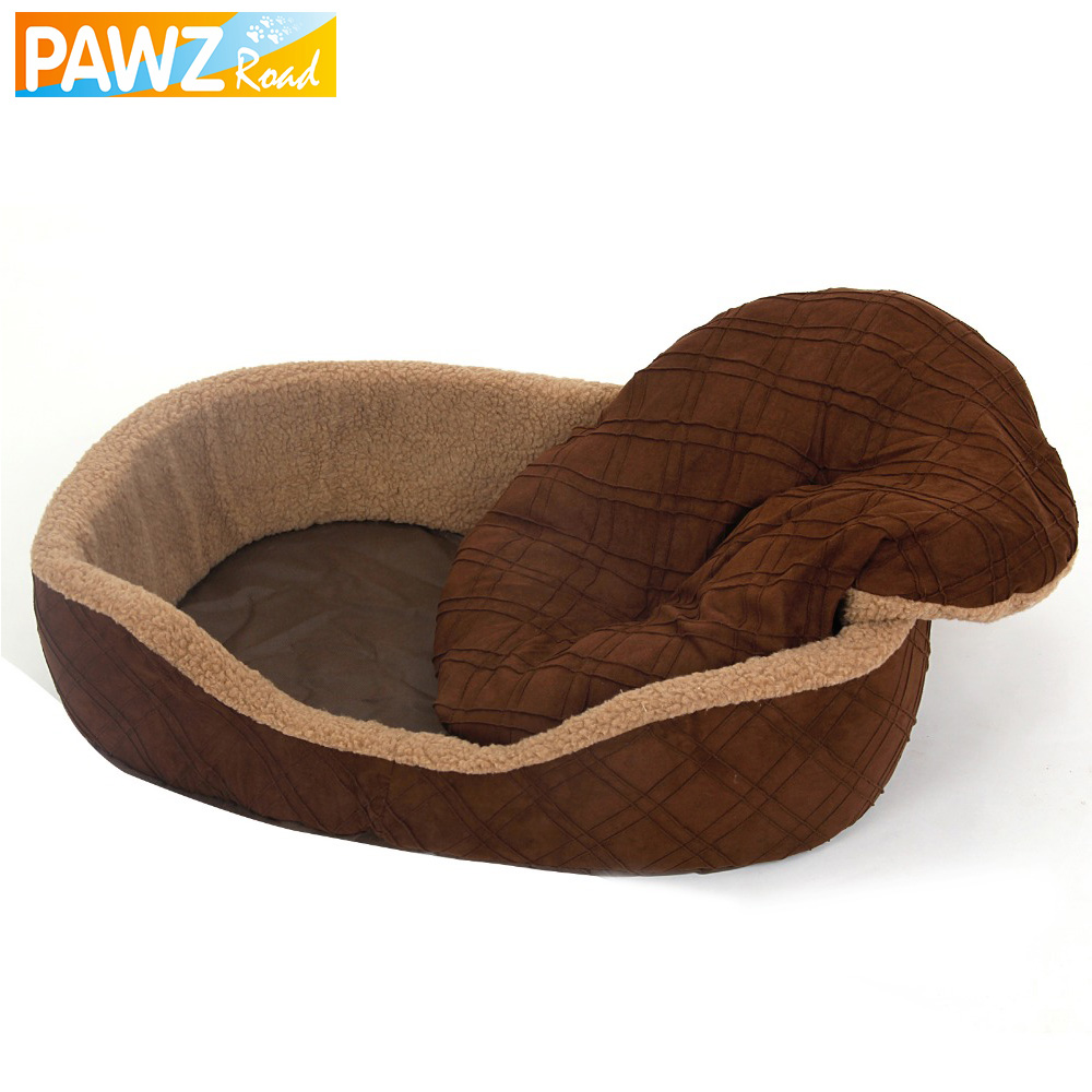 new style pet bed warm pet bed mat for dog with removable pillow dog bed for