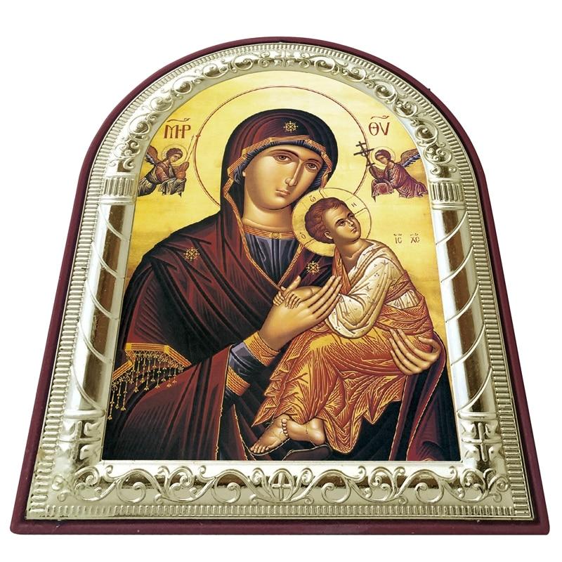 Ikona ortodokse greke e personalizueshme Virgin Mary Dhe imazhet e - Dekor në shtëpi - Foto 4