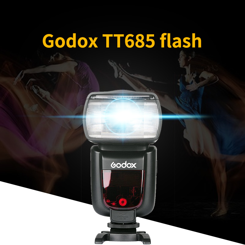 Godox TT685C/S TT685N 2.4G Wireless HSS 1/8000 s GN60 TTL Wireless Flash Light Speedlite X1T trigger per Nikon canon sony Macchina FotograficaGodox TT685C/S TT685N 2.4G Wireless HSS 1/8000 s GN60 TTL Wireless Flash Light Speedlite X1T trigger per Nikon canon sony Macchina Fotografica