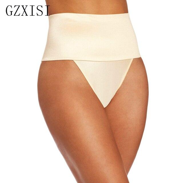4d29c07959 Good Quality High Waist Body Shaper Panties Thong G String Tummy Control  Butt Lifter Panties Waist Trainer Underbust Shapewear
