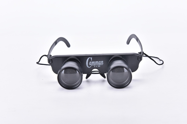 10mm blackmagnifier glasses style outdoor fishing optics binoculars