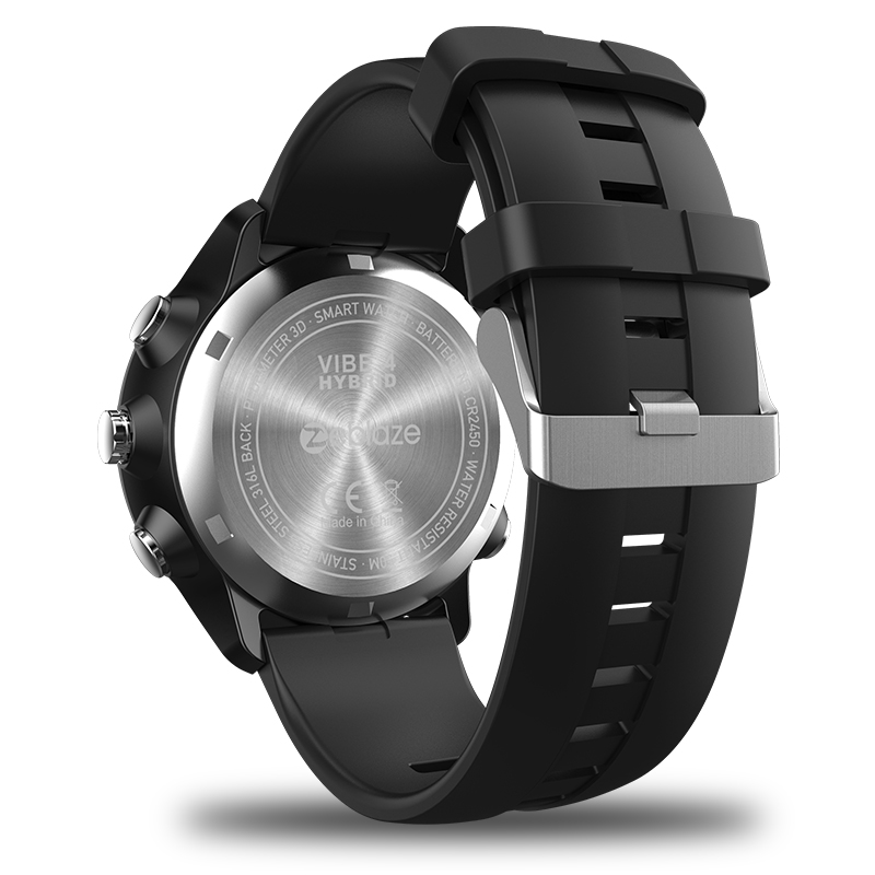 New Zeblaze VIBE 4 Hybrid Flagship Rugged Smartwatch 50M Waterproof 33-month Standby Time 24h All-Weather Monitoring Smart Watch 20