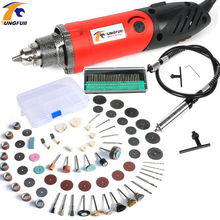 hot deal buy tungfull mini grinder multifunction power tools dreme mini drill 500w electric engraver polishing tools kit flex shaft engraver
