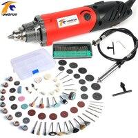 Tungfull Mini Grinder Multifunction Power Tools dreme Mini Drill 500W Electric Engraver Polishing Tools kit Flex Shaft Engraver