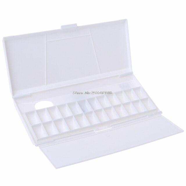 Палитра красок на водной основе 24 Сетка Professional арт пластиковая палитра товары для рукоделия DULL5