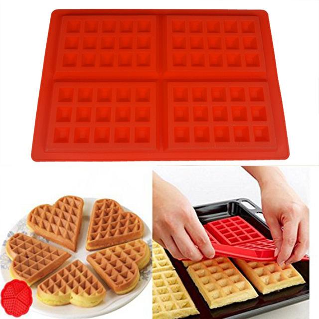 Silicone Waffle Pan