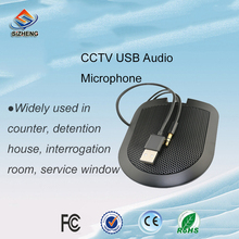 SIZHENG COTT-C3 USB CCTV audio surveillance microphone sound monitor -40dB clear voice listening for window service broadband agc bandwidth maximum 150m vca810 40db to 40db automatic control manual program controlled