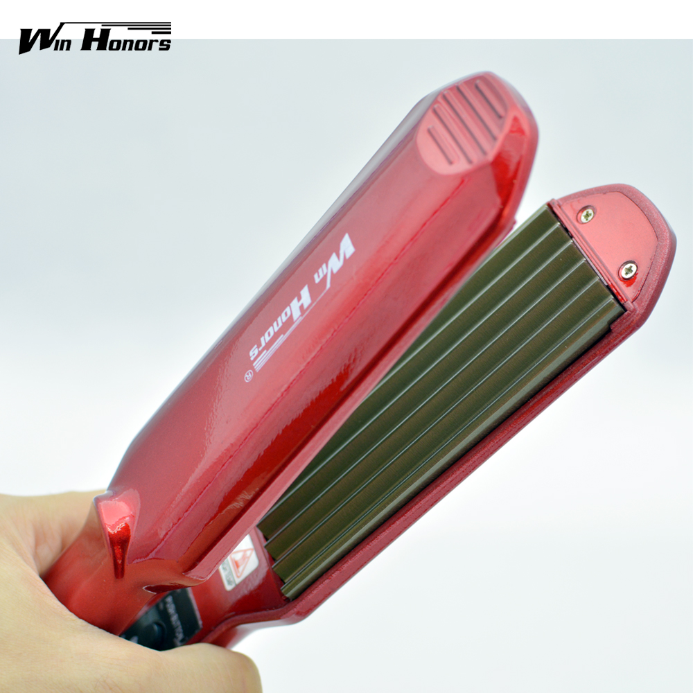 ®Professional Hair Iron For ⑧ Waves Waves Titanium Hair