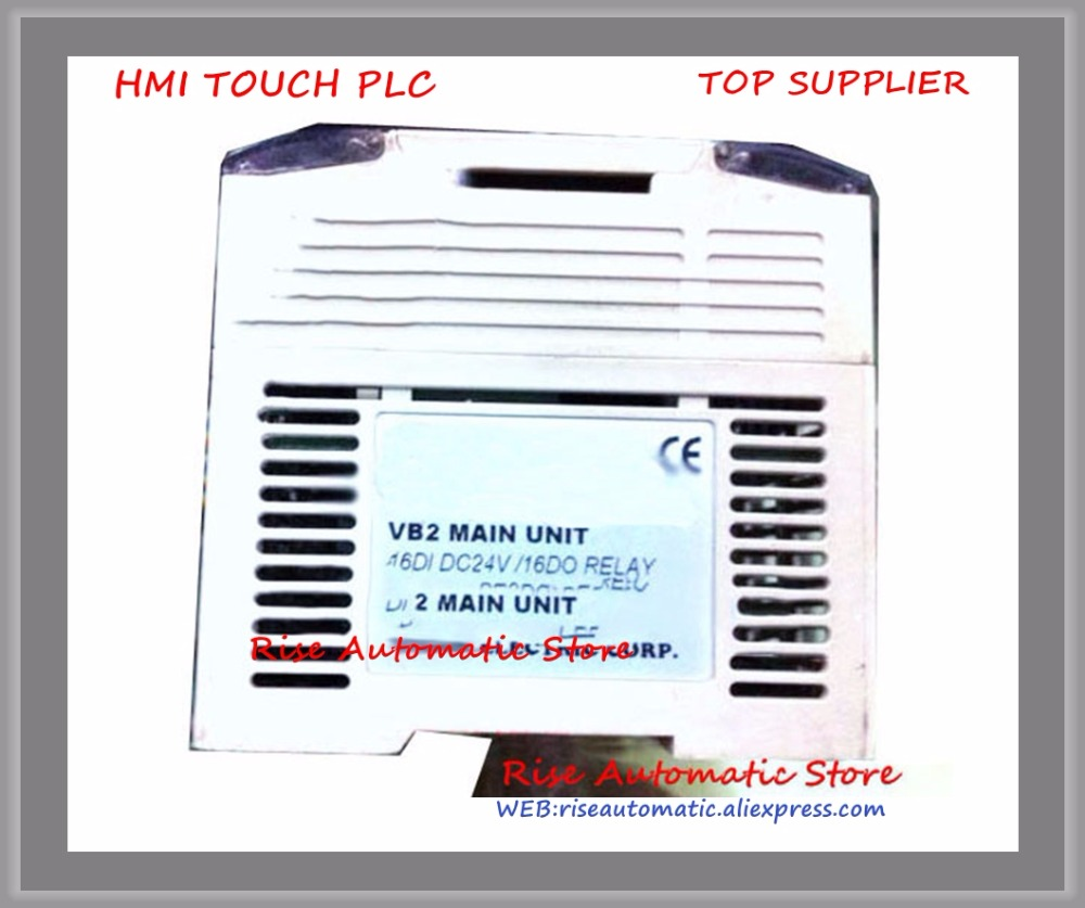 VB2-32MR-DC PLC New Original 24VDC 16 point input 16 point output Main UnitVB2-32MR-DC PLC New Original 24VDC 16 point input 16 point output Main Unit