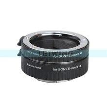 Viltrox Adaptador de Lentes de Enfoque Automático Macro Extension Tube para Sony E Mount NEX-7 Cámara A7 A7R A7S/6/5N/3/F3 A6000