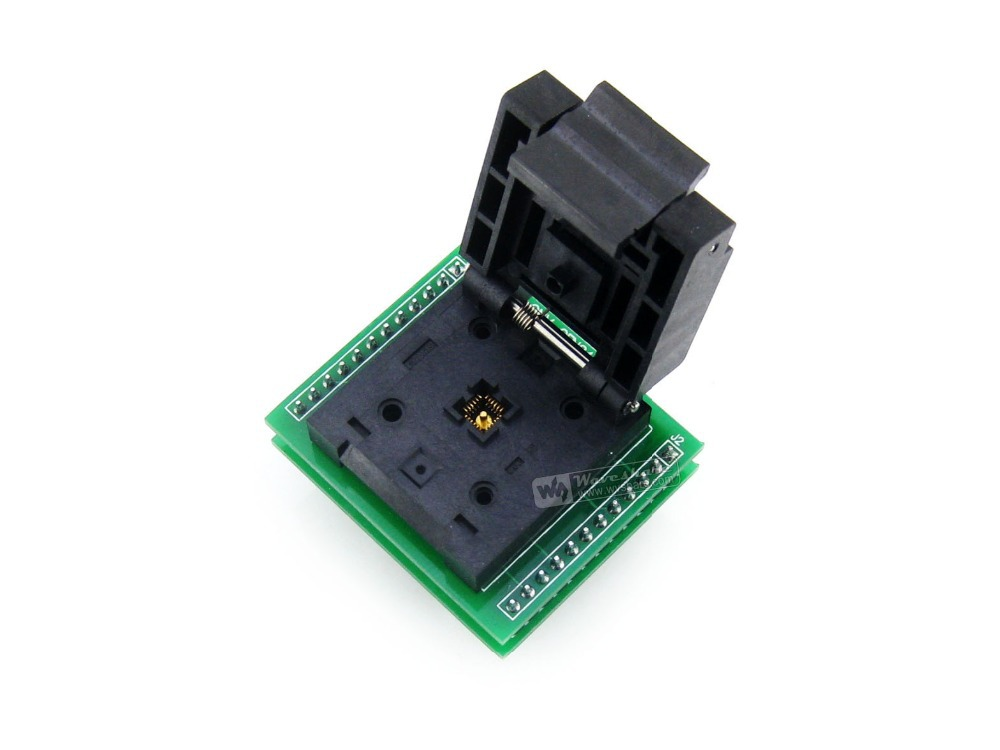 Enplas IC Test Socket & Programming Adapter for QFN24 MLF24 MLP24 package 0.5pitch 24pins High quality and durable цена