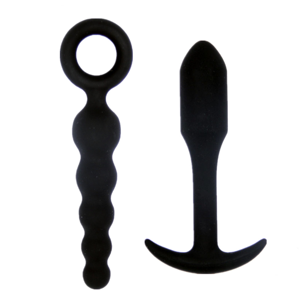 Soft Silicone Anal Dildo Vibrator Butt Plug Prostate Massager Adult Gay Products Anal Plug Beads Erotic Sex Toys for Men Women 19 9cm big penis anal butt plug toys large silicone anal beads plug dildo erotic gay anus sex toys sex products for men women