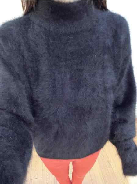 2019 Baru Kedatangan Musim Gugur Musim Dingin Dasar Turtleneck Mink Kasmir Sweater Hot Pabrik Menyesuaikan Mink Kasmir Pullover Tbsr333