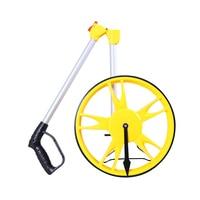 Portable 318mm Handheld Wheel Range Finder Distance Measuring Tool Collapsible Mechanical Distance Measuring Wheel Machine