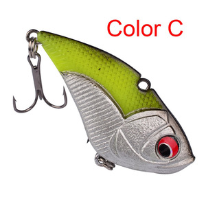 Image 5 - 1Pcs High Quality Crank Metal Vibration Lures 50mm 13g  With Lead Inside Fishing VIB Lure Sinking Artificial Vibrator Bass Bait