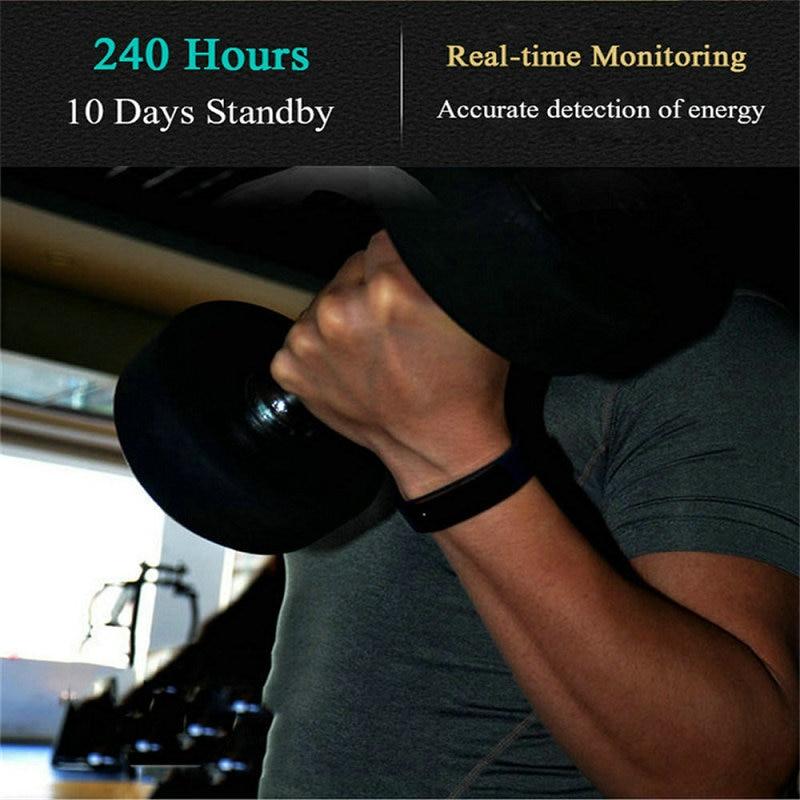 2018 OGEDA Sport Smart Watch Women Fitness Tracker Bracelet Step Counter Activity Alarm Clock Bluetooth Wristband Clock 115