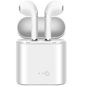 Image 1 - I7 i7s TWS ワイヤレス fone のデ ouvido xiaomi in ear Bluetooth イヤホンインナーイヤーの Mic とすべてのスマートフォン