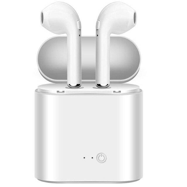 I7 i7s TWS ワイヤレス fone のデ ouvido xiaomi in ear Bluetooth イヤホンインナーイヤーの Mic とすべてのスマートフォン