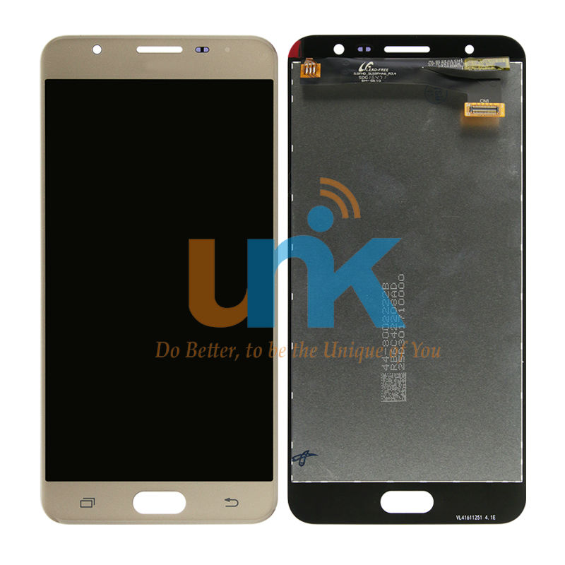 Original LCD Display For Samsung Galaxy J7 Prime G610 LCD Display + Touch Screen Digitizer Assembly White/Blue/Gold Free Ship gold touch screen digitizer lcd display for samsung galaxy grand prime g530 g5308 g530h sm 530 repair part
