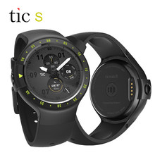 Globale Version Ticwatch S Android Tragen 2,0 GPS Smart Uhr 512 M/4G Google Fit Herz rate Musik kompass Smartwatch Für Smartphone(China)