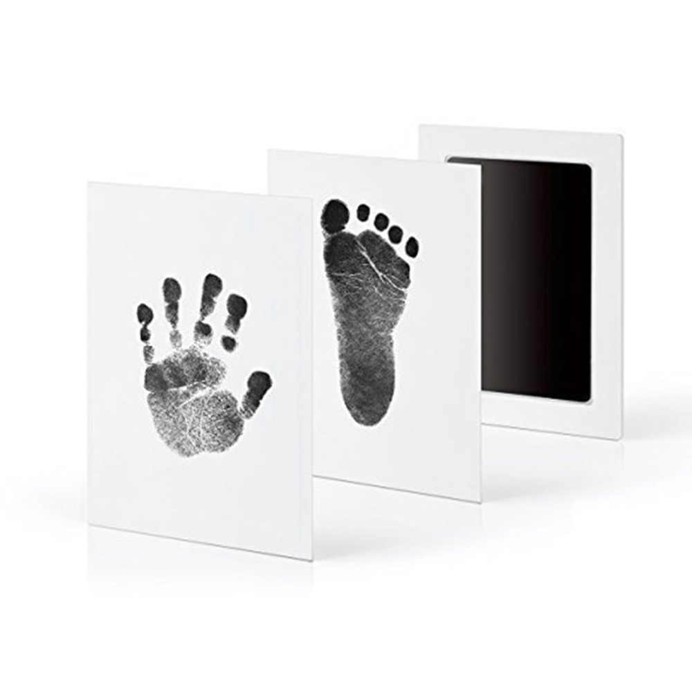 Baby Care Handprint Footprint Pad Newborn Safe Non-Toxic Ink Photo Hand Foot Print Makers Pad Watermark Wonderful Keepsake Toys