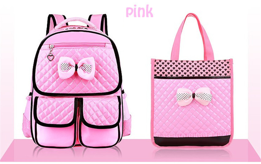 COOL BABY New Cute Children Backpack Grade 1 6 Girls School Bags PU ... 4caf832511917
