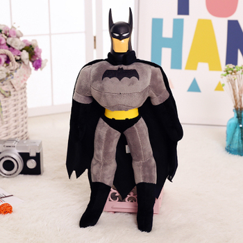 GGS  45cm 55cmMARVEL Hero League Avenger Alliance  Batman plush toy Doll Child Toy Doll Birthday Gift, Free Shipping!