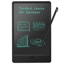 """NEWYES 10 """"נייד חכם LCD הכתיבה פנקס אלקטרוני גרפי ציור לוח לוח עם Stylus עט CR2016 כפתור"""