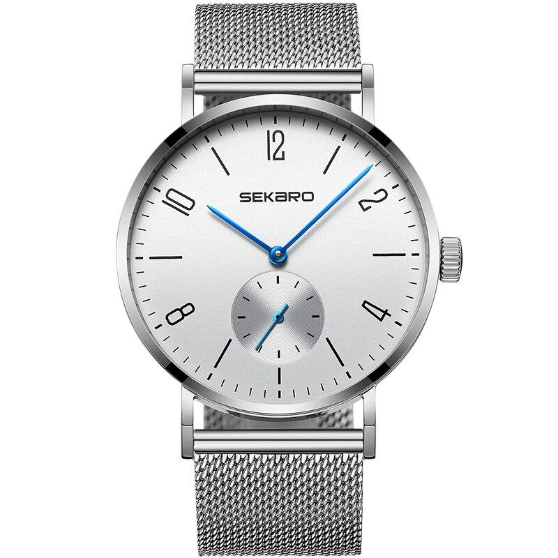 SEKARO 2813 Switzerland watches men luxury brand new genuine automatic mechanical watch simple men