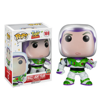 FUNKO POP Disney Anime toy story 4 BUZZ LIGHTYEAR #169 Vinyl Action Figures Collection Model Toys for Children Xmas gift