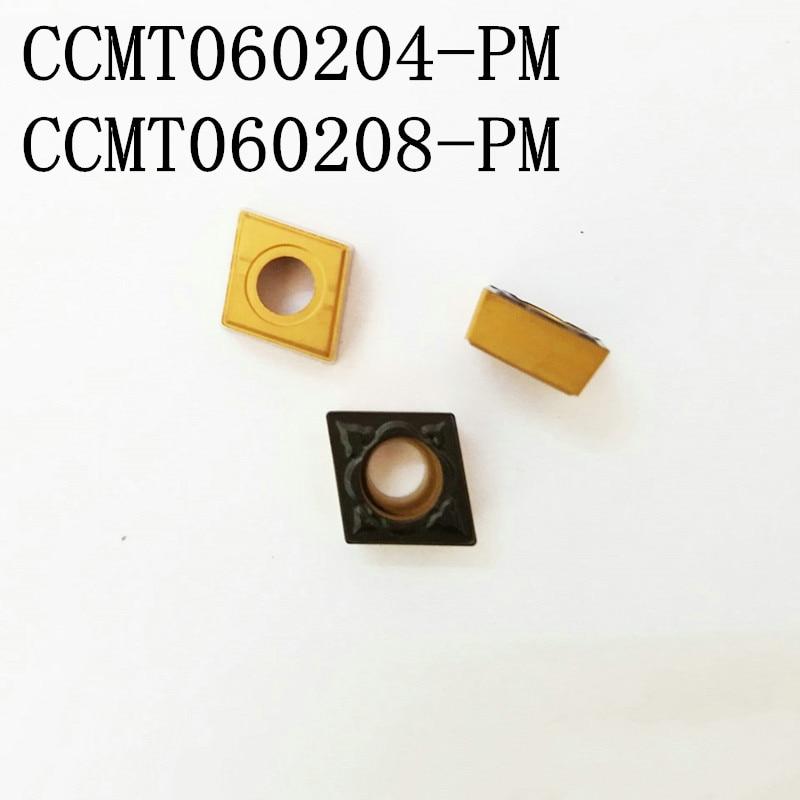 100PCS replace SANDVIK CCMT060204-PM 4025/4225/4325 CCMT060204/CCMT060208 lathe tools carbide turning inserts CNC turning tools dhl ems 5 lots new sandvik 5322472 01 carbide inserts 10pcs box a2