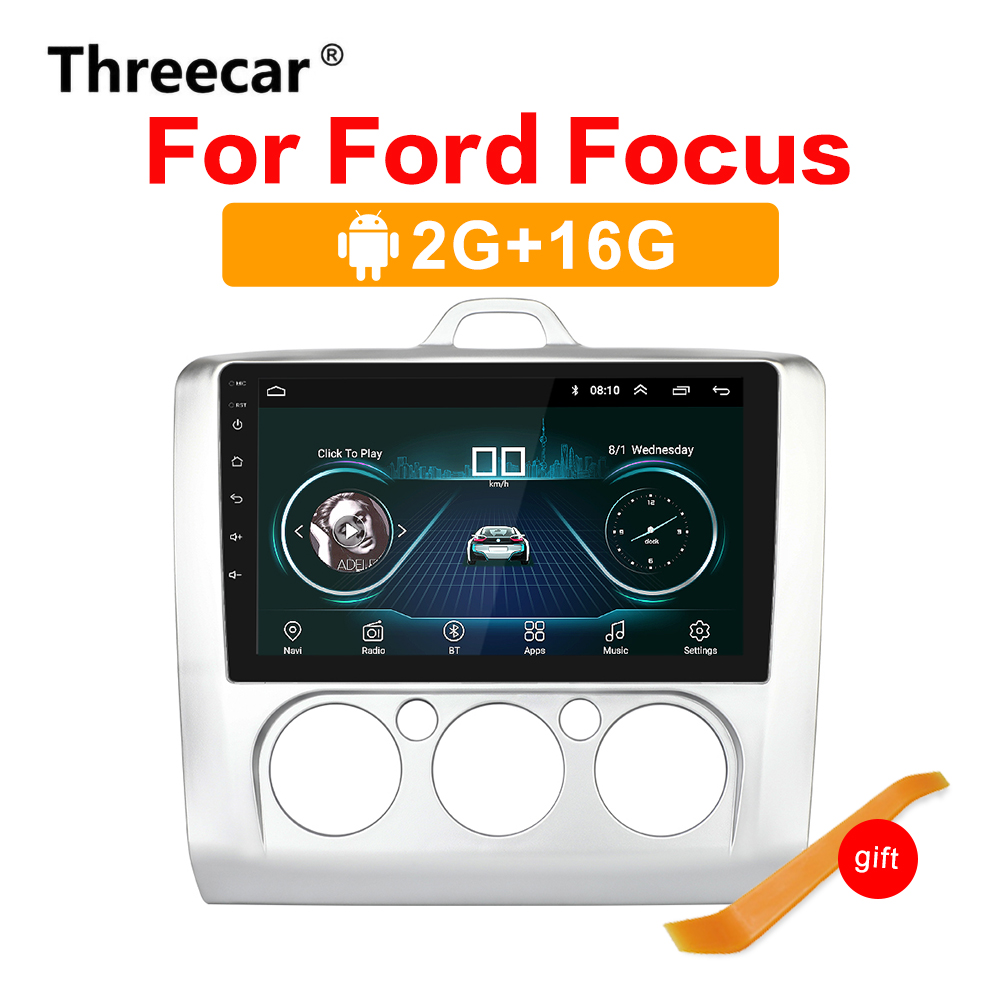 <font><b>2din</b></font> <font><b>Android</b></font> 8.1 Auto Radio 9 zoll GPS Navigation Bluetooth für 2005-2011 <font><b>Ford</b></font> Focu Stereo Multimedia player Autoradio Autoradio image